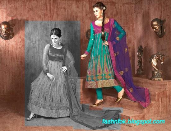 Anarkali-Fancy-Bridal-Wedding-Wear-Frocks-Dress-New-Fashionable-Designs-Collection-2