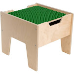 Contender C991300F-PG 2-N-1 Activity Table with Green DUPLO Compatible Top - Assembled