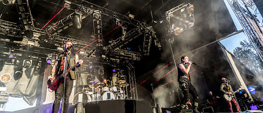 Aftershock: Shinedown photos--and upcoming UK/European/USA tour!