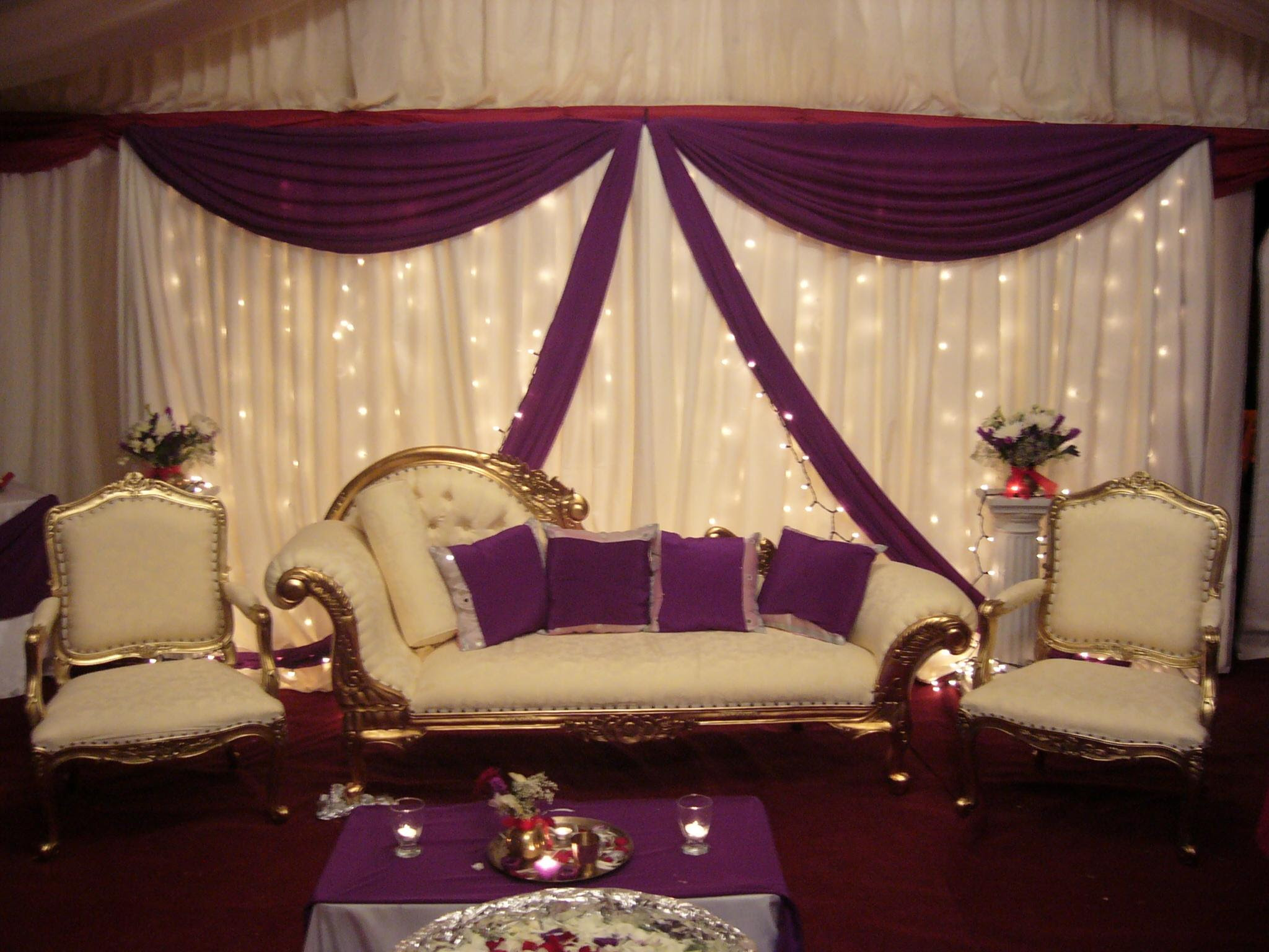 Indian Home Decoration For Engagement