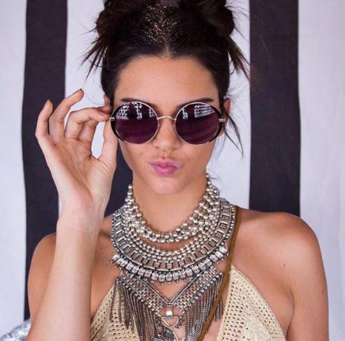 "fashionnnrunway: "" Round Sunglasses """
