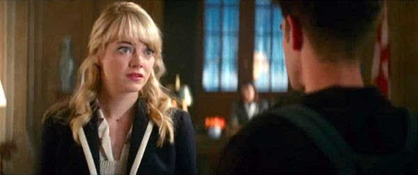 Emma Stone is back as Gwen Stacy in THE AMAZING SPIDER-MAN 2.