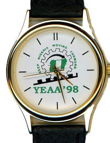 Abacha watch YEAA 1998