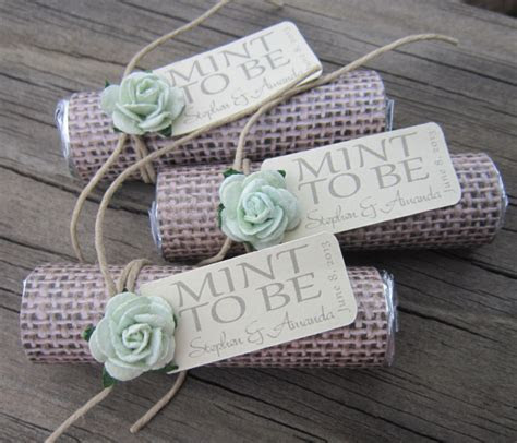 Unique Mint Wedding Favors   MODwedding