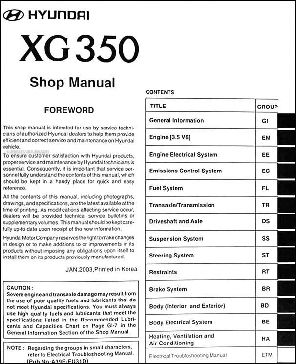 3 Way Switch Wiring 2004 Hyundai Xg350l Repair Manual Hd Quality Cuci Desafiar Com Ar
