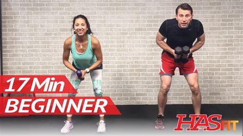 min strength training workout  beginners beginner