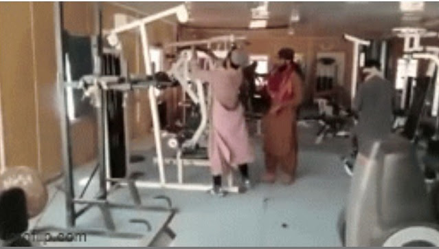 In another video, Taliban fighters can be seen checking out a gym. These encounters with modern amenities highlights how much Kabul and other Afghan cities have changed in the 20 years since the Taliban, who mainly hail from rugged rural areas, last ruled the country. An entire generation of Afghans has come of age under a modernizing, Western-backed government flush with development aid. Many fear those gains will be reversed now that the Taliban are back in power and the last U.S. troops are on their way out.