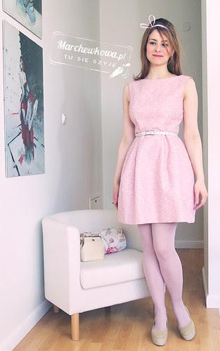 marchewkowa, szafiarka, moda, retro, blog, Zara tulip dress, sukienka tulipanowa, spring, wiosna 2012, vagabond gaga, schaffashoes