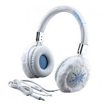 eKids Disney Frozen 2 Fashion Headphones with Built in Microphone, Adjustable Kids Headband for School Home or Travel, Compatible with Apple Samsung T