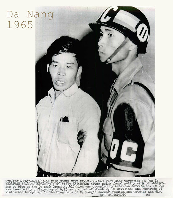 1965 Convicted Viet Cong Terrorist Le Dua Led from Court