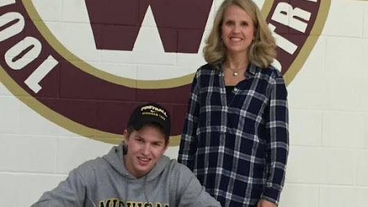 Hunter Page Signs With Michigan Tech