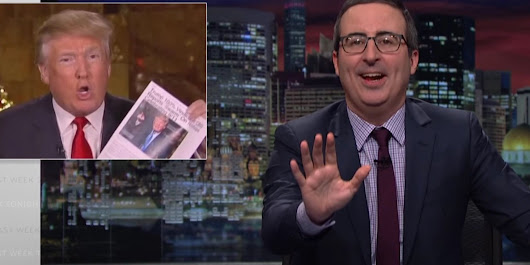 John Oliver Has A Genius Plan To Force Trump To Learn Some Actual Facts