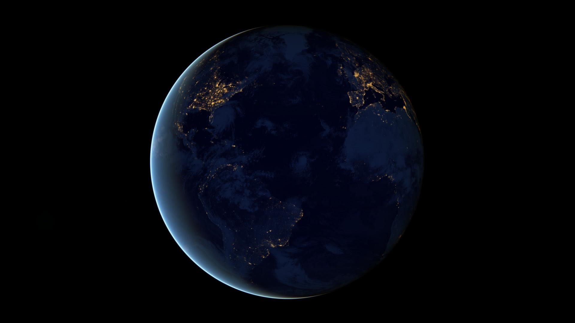 Nasa Earth At Night From Space