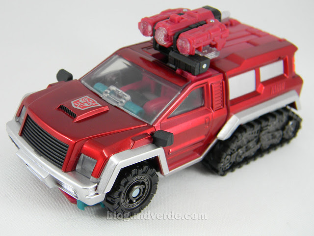 Transformers Perceptor United Deluxe - modo alterno
