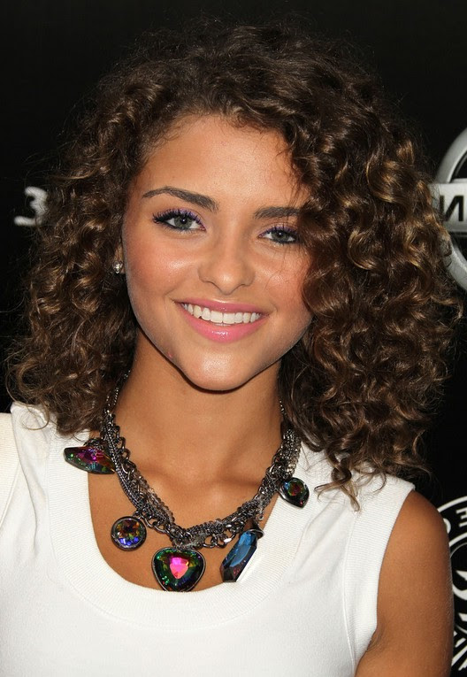 Curly Hairstyles Medium Length Hair The Look For Less