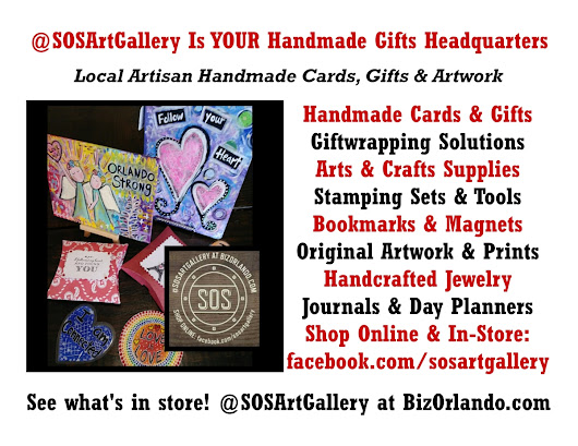 @SOSArtGallery Local Artisan-Made Retail Store = #OrlandoMade Online Card and Gift Shop #SOS2018