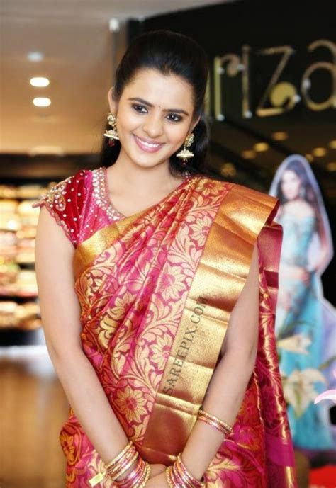 Model Manasa in Bridal saree and lehenga at Kalanikethan