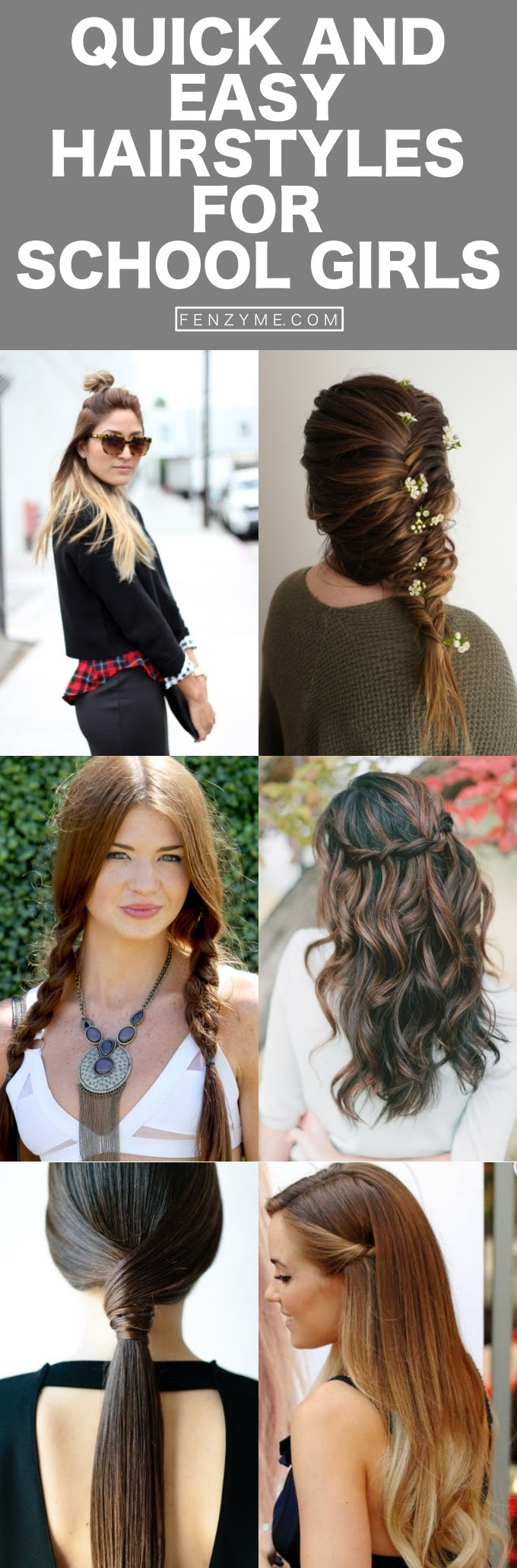 Hairstyles For Girls For School 46