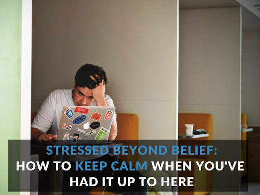 Stressed Beyond Belief: How to Keep Calm When You've Had It up to Here