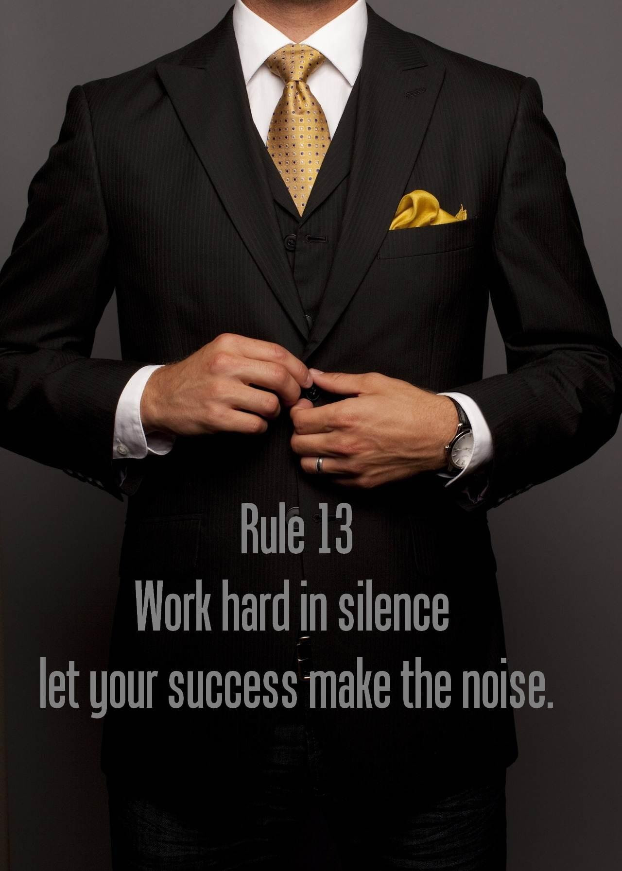 Word Hard In Silence Let Your Success Make The Noise