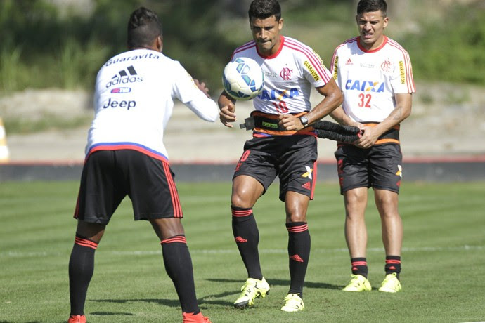 Flamengo - treino quinta-feira (Foto: Gilvan de Souza / Flamengo)