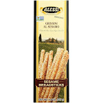 Alessi Breadsticks, Sesame - 4.4 oz
