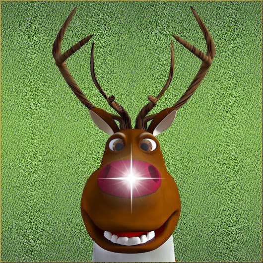 'Rudolf the Red-Nosed Reindeer'  by Natalie Clarke