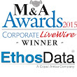 EthosData Virtual Data Room wins two individual awards from Corporate Live Wire