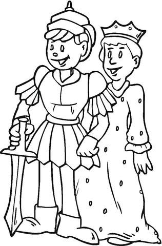 Dibujo De Familia Real Para Colorear Dibujos Para Colorear