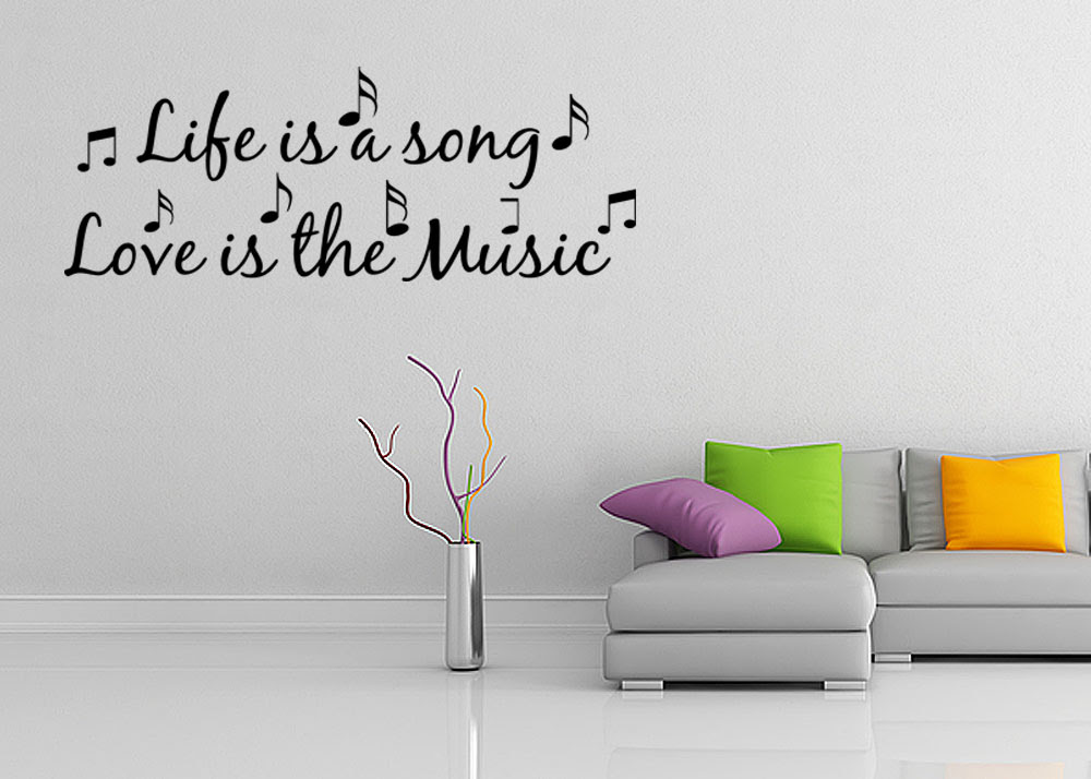 beautiful life is a song love is the music quote malloryheartcozies