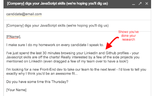 7 Writing Tricks to Level up Your Cold Recruiting Emails