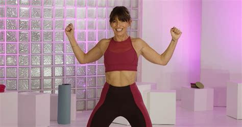 davina mccalls  workout dvd power box  tone