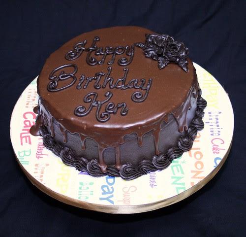 Chocolate Ganache Cake Boss