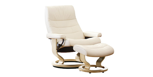 Stressless Opal Chair & stool - Hopewells