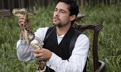 Brad Pitt in The Assassination of Jesse James by the Coward Robert Ford