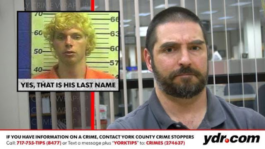 Weekly crime wrap-up: Yes, that is his last name