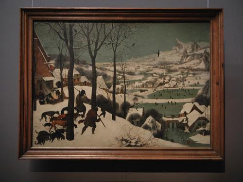 DSCN9923 _ Jäger im Schnee (Winter), 1565, Pieter Bruegel d. Ä., KHM