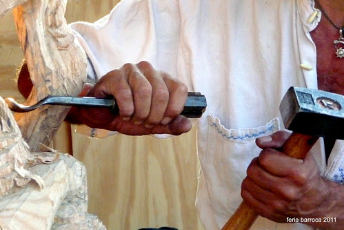 manos, herramientas para modelar maderas