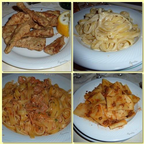 Comida en Restaurante Il Biondo en Siena