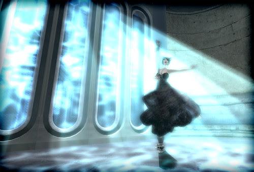 5-365 : Broom Dancing in Waterlight