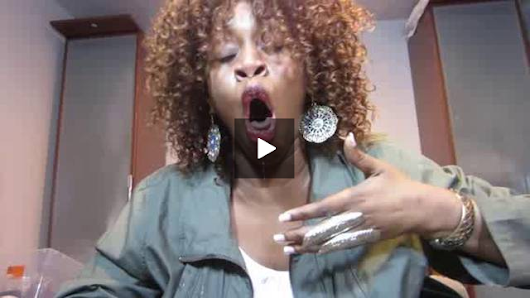 GloZell Eats Super Hot Pepper by AlexSchiavone
