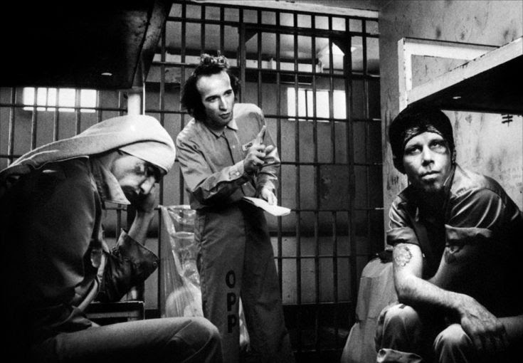 John Lurie, Roberto Benigni  Waits. Down by Law, Jim Jarmusch, 1986.