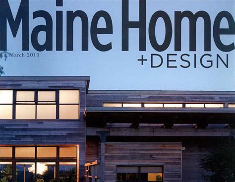 featured  maine home design magazine michael  bell