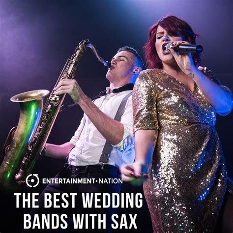 16 Sensational Wedding Bands With Saxophone