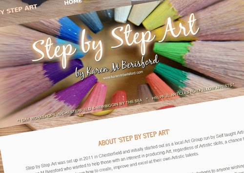 Art Workshops, Articles,reviews and Step by Step tutorials for Artists - News page of the Step by Step Art website