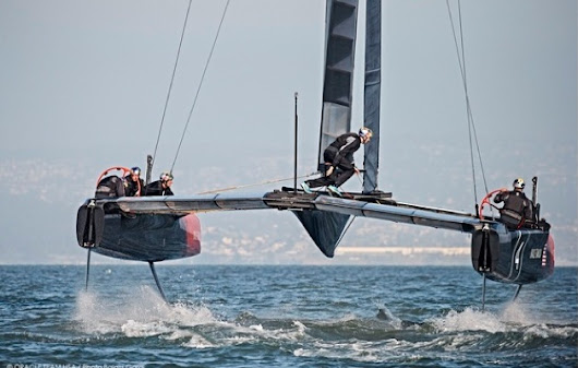 New America's Cup class revealed. Think 46 knots in 16 knots of wind and that's just the start - Yachting World