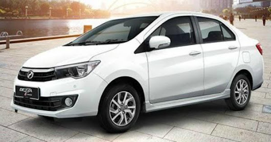 Perodua Has An Enhanced Look For The Energy Efficient Bezza