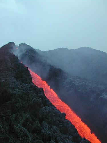 Etna. Lava flow -  on Explore Aug 31, 2007 #496