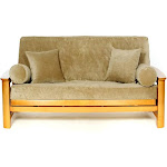 LS Covers Gold Rust Full Futon Cover Fits Mattress 54x75 x 6 to 8