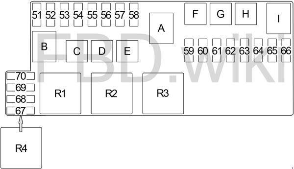 Infiniti Qx4 1996 2003 Fuse Box Diagram